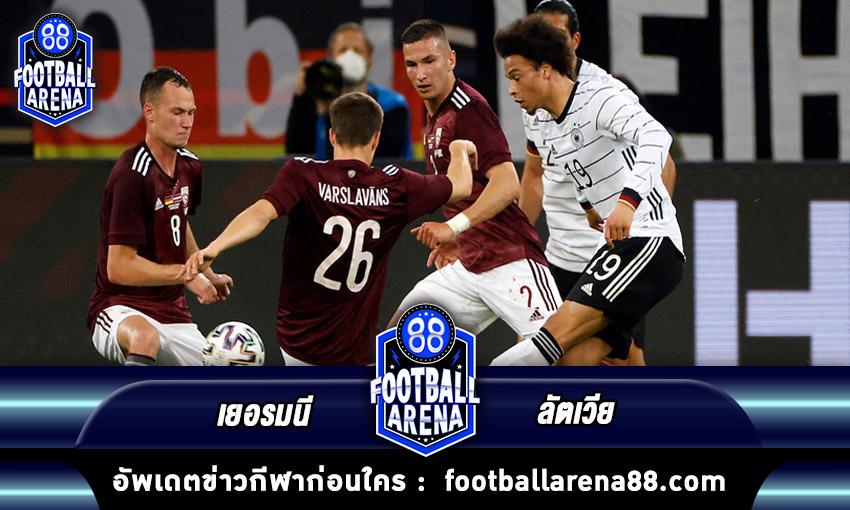 germany vs latvia footballarena88